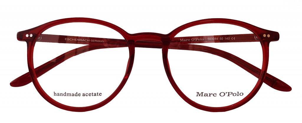 Brille rot. Optiker Mersmann. Brille Ulm. Marc O´Polo. Handmade Acetate. Eschenbach.