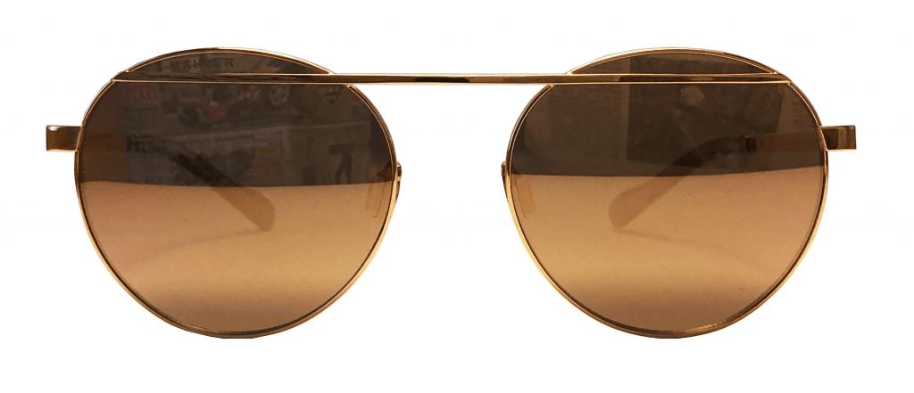Sonnenbrille, gold, verspiegelt, Sommer, 2020, Uli Mahler, Optik Mersmann